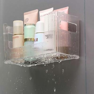 DS-A83간편부착 주방 욕실 정리 물빠짐 선반