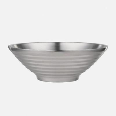 DS-G735보온 보냉 이중 스텐 그릇 20cm 면기 라면그릇
