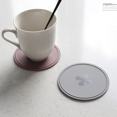 DS-J575파스텔 실리콘 원형 컵받침 4P 세트