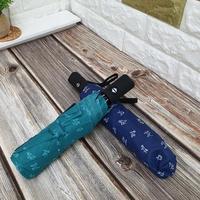 DK-09 도그 패턴 3단 완전 자동 우산 (랜덤)