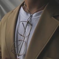 남자 목걸이 선글라스 안경 걸이 힙합 패션 thin glas
