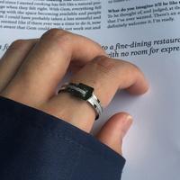 남자 반지 써지컬 스틸 체인 링 glittering ring