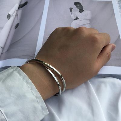 남자 뱅글 팔찌 패션 써지컬 스틸 past bracelet