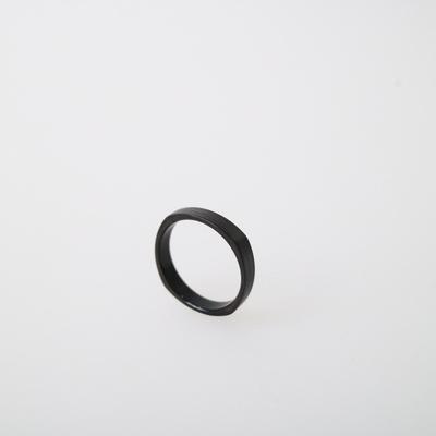 남자 심플 반지 써지컬스틸 블랙 링 BLACK SIMPLE