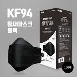 마쓰미 KF94 황사마스크(블랙) 100매