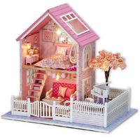 DIY 미니어처 하우스 분홍 벚꽃