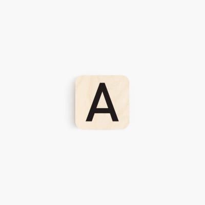 정사각형 4 size 알파벳 우드액자
