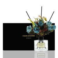 포시즌 디퓨저 블랙라벨 선물세트 200ml 로얄장미 블루