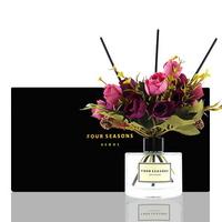 포시즌 디퓨저 블랙라벨 선물세트 200ml 로얄장미 퍼플