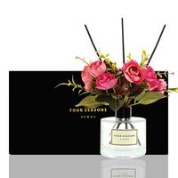 포시즌 디퓨저 블랙라벨 선물세트 200ml 로얄장미 핑크