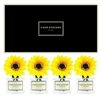 포시즌 사계절 선물세트 디퓨저 200ml 해바라기꽃 x4