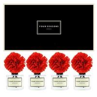 포시즌 사계절 선물세트 디퓨저 200ml 카네이션 레드 x4
