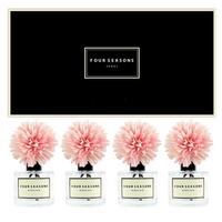 포시즌 사계절 선물세트 디퓨저 200ml 맘 핑크꽃 x4