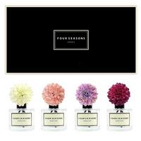포시즌 사계절 선물세트 디퓨저 200ml 메리골드 화이트+핑크+라벤더+퍼플꽃 x4