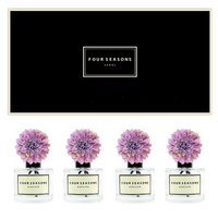 포시즌 사계절 선물세트 디퓨저 200ml 메리골드 라벤더꽃 x4