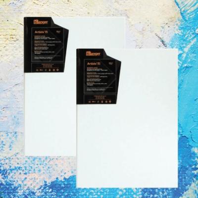 아티스트 레인저캔버스 정사각형 10cmx10cm 2개 세트 고급캔버스 왁구