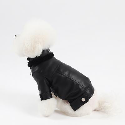 에덴숑- Mustang Rider jacket-Black(무스탕라이더자켓-블랙)