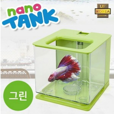나노탱크 자동물갈이 어항 (그린)