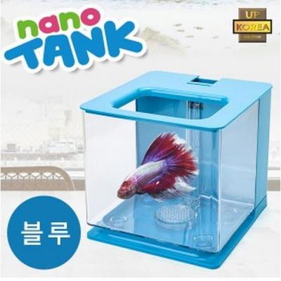 나노탱크 자동물갈이 어항 (블루)