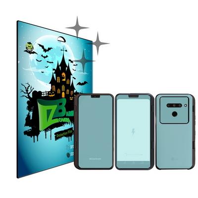 LG V50 씽큐 듀얼스크린 올레포빅 보호필름 액정 각 1매+케이스 카메라 외부 각 1매