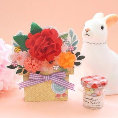 꽃바구니카드 5set
