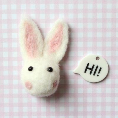 토끼양모펠트1p