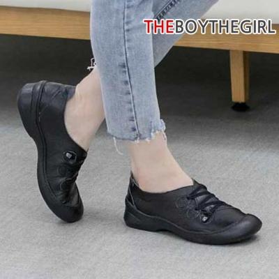 WS-8069 여자 소가죽 스니커즈 단화 가을 신발