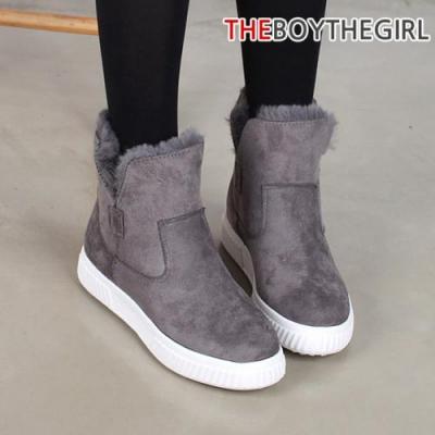 WS-8288 여자 털안감 하이 스니커즈 겨울 숏부츠 신발