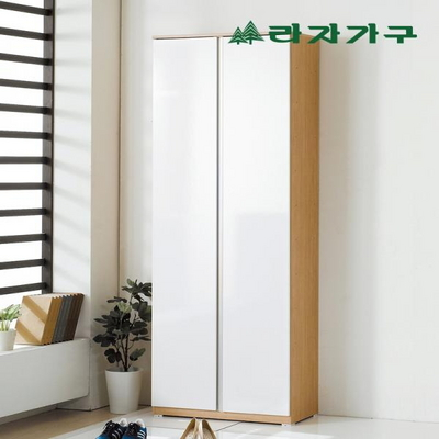 어난 심플 긴문 신발장 800