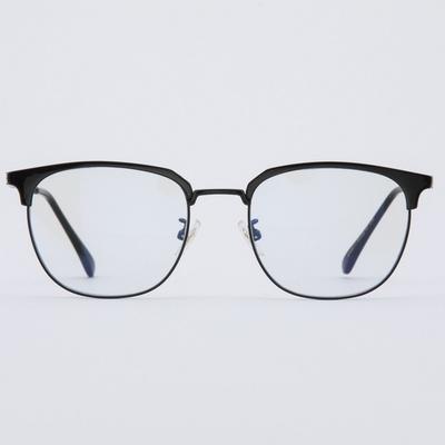 CLARK black 안경 메탈 블루라이트차단 세일 수입