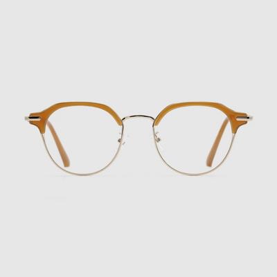 HAYES pumpkin 안경 하금테 고급 하우스브랜드