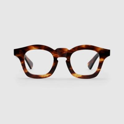 BALBOA flame 안경 하우스브랜드 특이한 고급 큰