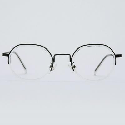 EDA black-crystal 안경테 사각 커플 파우치