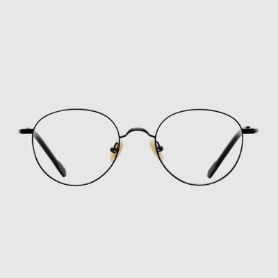CAINE black 안경 베타 티타늄 하우스브랜드 고급