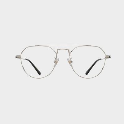 CARL silver 안경테 여자 무광 원시 명품 반뿔테