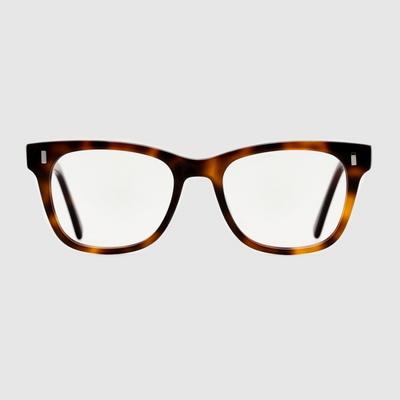 BACH amber 안경 고급 무도수 호피 하우스브랜드