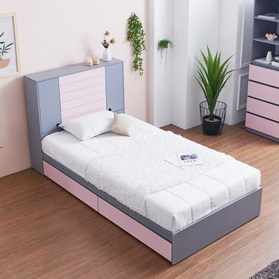 블랑 도어수납 서랍형 슈퍼싱글 침대