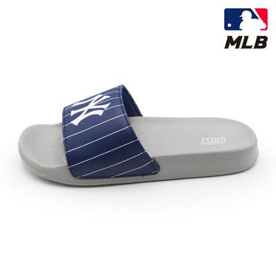 MLB 슬리퍼 뉴욕 양키스 스트라이프 (그레이 GRAY)