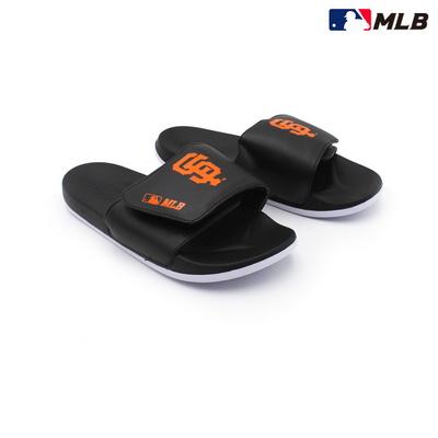 MLB 슬리퍼 SF 자이언츠 투톤 벨크로 (블랙 BLACK)