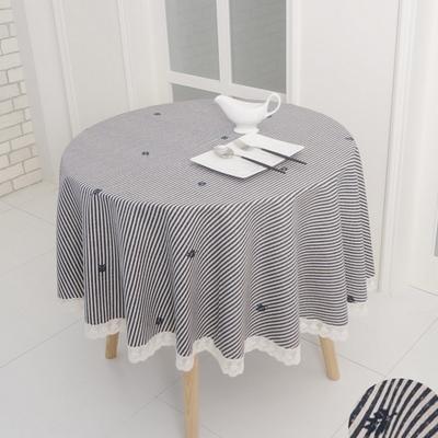 레이스원형식탁보 - 원탁크기100cm용