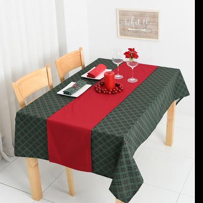 크리스마스 식탁보+러너세트 - 정2인 108X108cm