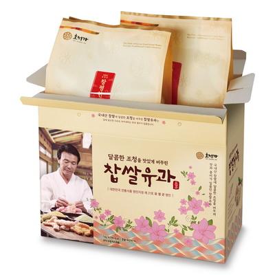 창평한과 찹쌀유과세트 / 한과선물세트 식품명인 21호