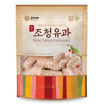 호정가 조청유과(200g) / 창평한과 한국식품명인 21호