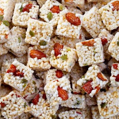 호정가 쌀아몬드강정(500g)/창평한과 오꼬시 식품명인