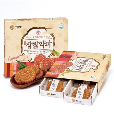 호정가 찹쌀약과 14개입 (490g) / 창평한과 식품명인 제21호
