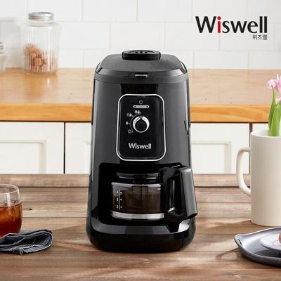 위즈웰 WC4061 그라인드앤드립 MINI 커피메이커 커피머신