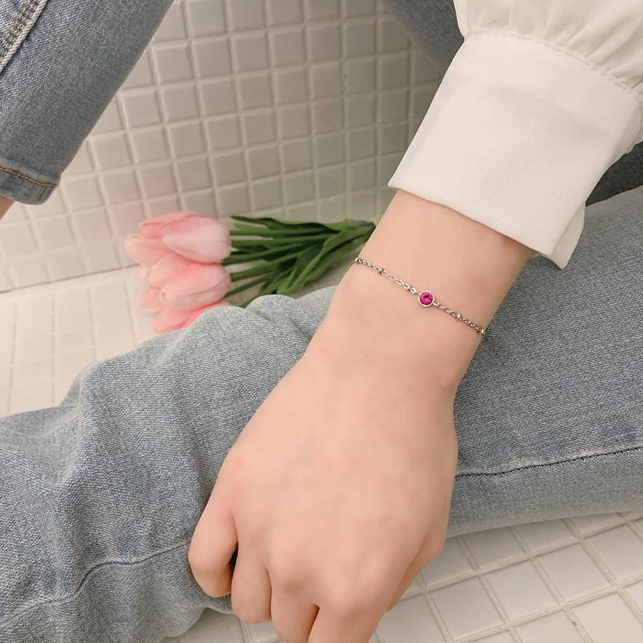 서지컬 탄생석 발찌 팔찌 12달 별자리 길이조정가능 - 디어벨, 12,000원, 발찌, 패션발찌